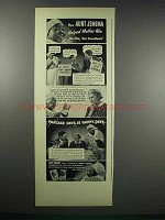 1938 Aunt Jemima Pancake Mix Ad - Helped Mother Win
