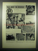 1938 Heinz Tomato Juice Ad - Talk About the Weather