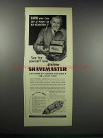 1938 Sunbeam Shavemaster Ad - Try It Right At Counter
