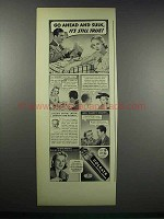 1938 Colgate Ribbon Dental Cream Ad - Go Ahead and Sulk