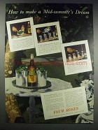 1938 Four Roses Whiskey Ad - Mid-Summer's Dream
