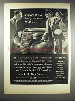 1938 Chevrolet Cars Ad - Figure it Out for Yourselves