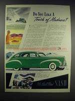 1938 Nash LaFayette 4-Door Fast Back Sedan Ad - Madness