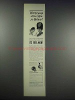 1938 Botany Wrinkle-Proof Ties Ad - Will Ye Accept