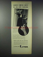 1938 Kayser Colonial Gloves Ad - Miss Joan Christie
