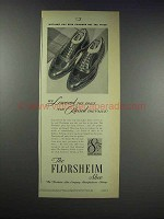 1938 Florsheim Embassy S-824 Shoes Ad
