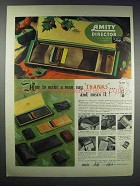 1938 Amity Ad - Director Matched Set 4007 Billfold