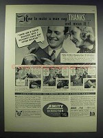 1938 Amity Director Billfold Ad - Make a Man Say Thanks