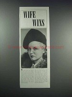 1938 Ivory Soap Ad - Wife Wins