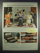 1938 1847 Rogers Bros. Silverplate Ad - Marquise