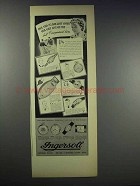 1938 Ingersoll Watch Ad - Mickey Mouse, Buck, Guide