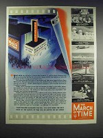 1938 The March of Time Movie Ad - Inside Nazi Germany