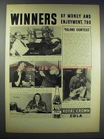 1938 RC Royal Crown Cola Ad - Winners of Money