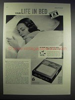 1937 Lady Pepperell Sheets Ad - Your Life in Bed