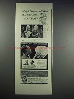 1937 Hammermill Bond Paper Ad - Is a Better Paper