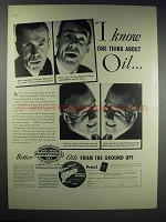 1937 Pennsylvania Oil Ad - I Know One Thing About Oil