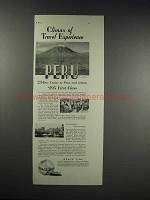 1932 Grace Line Ad - Climax of Travel Experience