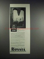 1932 Intourist Inc. Ad - Travel Land Russia