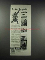1932 New England Council Ad - Another Glorious Summer