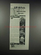1932 New England Council Ad - Up Killick