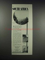 1932 Thos. Cook & Son Ad - South Africa