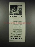 1932 German Tourist Information Office Ad - Romance