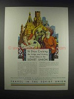 1932 Intourist Inc. Ad - Great Cities in Soviet Union