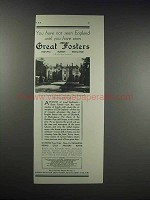 1932 Great Fosters Ad - You Have Not Seen England