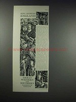 1932 Great Western & Southern Railways of England Ad - King Arthur