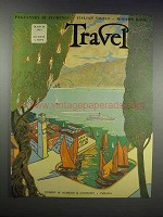 1932 Cover from Travel Magazine - March 1932