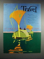 1932 Travel Magazine Cover - October 1932