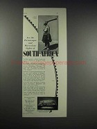 1931 Thos. Cook & Son Ad - South Africa