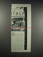 1931 Italian Tourist Information Office Ad - Sojourn