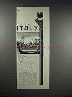 1931 Italian Tourist Information Office Ad - This Year