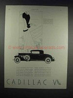 1931 Cadillac V-12 2-Door Coupe Car Ad