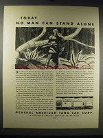 1931 General American Tank Car Corp Ad - Stand Alone
