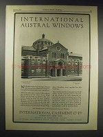 1929 International Window Ad - Girls Senior High School