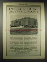 1929 International Window Ad - St. Ann's School