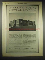 1929 International Window Ad - Washington Junior High
