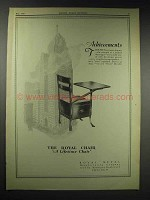 1929 Royal Movable Chair Ad - Achievements