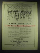 1929 Theodor Kundtz Eclipse Desks and Chairs Ad
