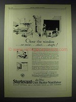 1929 Sturtevant Unit Heater-Ventilator Ad - The Window