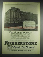 1929 Rubberstone Tile Ad - Wellsville High School