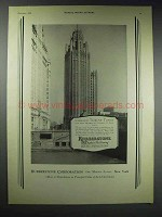 1929 Rubberstone Tile Ad - Chicago Tribune Tower