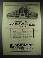 1929 Carter Bloxoned Floor Ad - Morgan G. Bulkeley High