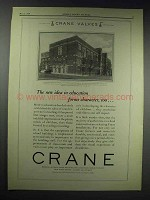 1929 Crane Valves Ad - South High School, Omaha, NE