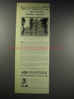 1929 Du Pont Tontine Shade Ad - Mary Grove College