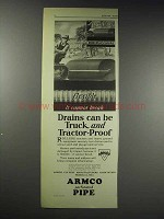 1929 ARMCO Culvert Ad - Flexible it Cannot Break