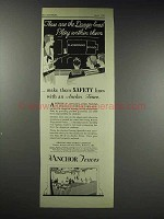 1929 Anchor Post Fence Company Ad - Danger Lines