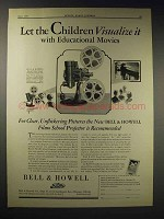 1929 Bell & Howell Filmo School Projector 57E Ad